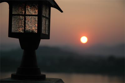 Sonnenuntergang_Lampe