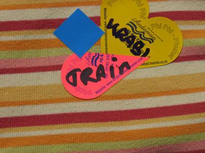 Sticker to go